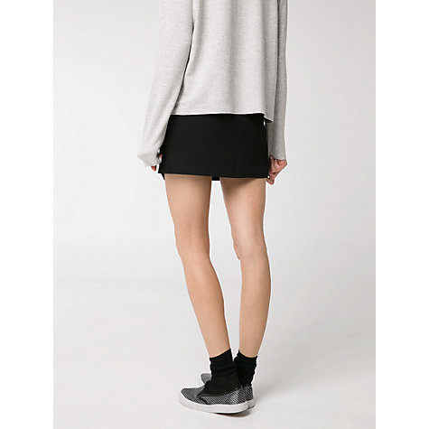 Buy Mango Textured Wrap Skirt Online at johnlewis.com