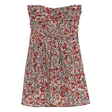 Buy Mango Strapless Dress, Medium Pink Online at johnlewis.com