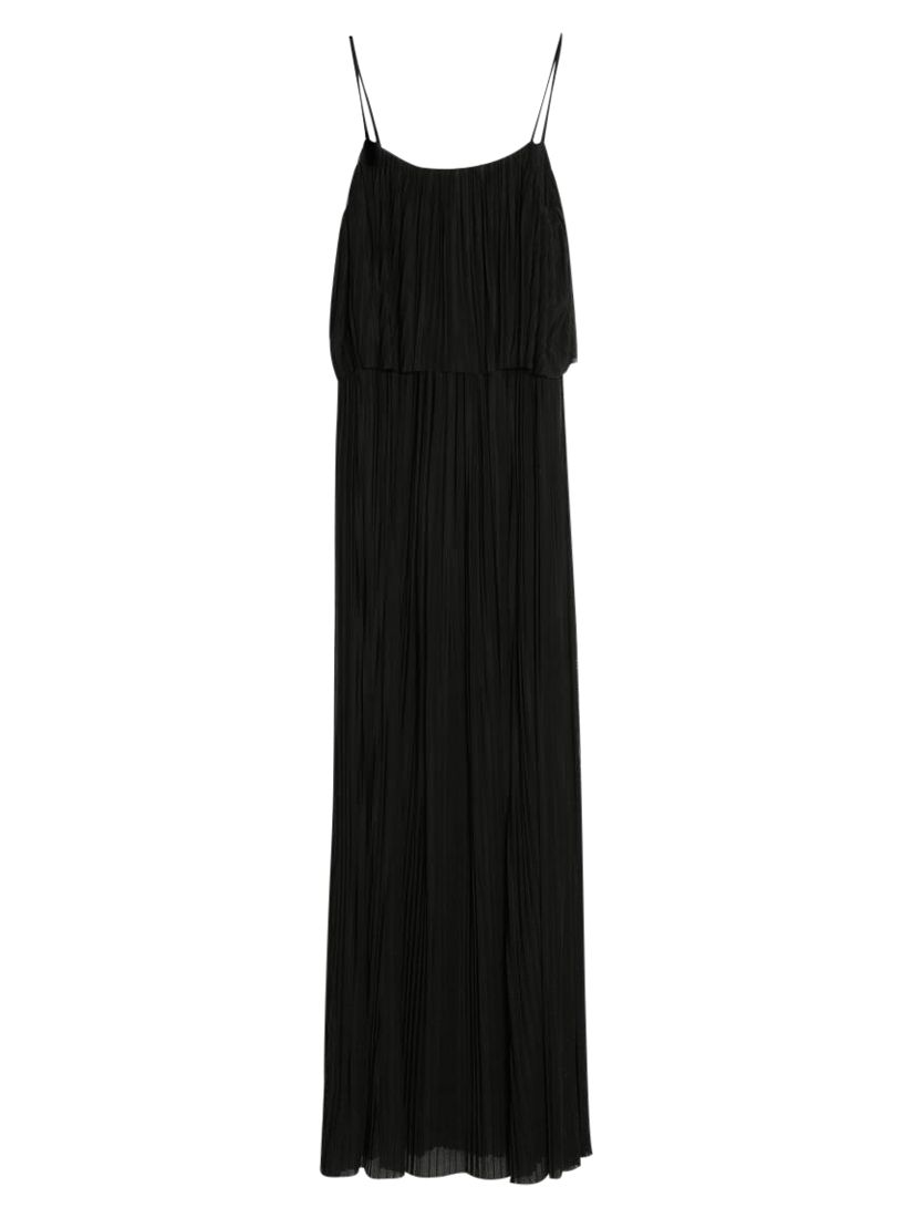 mango pleated long dress, mango, pleated, long, dress, black|black, 10|8, clearance, womenswear offers, winter sun, women, womens dresses, special offers, womens dresses offers, sport & leisure, festival essentials, womens festival fashion, festival dresses, 1489371
