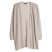 Buy Mango Linen Cardigan, Light Beige Online at johnlewis.com