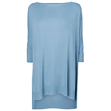 Buy Phase Eight Made in Italy Sandra Knit Jumper, Denim Online at johnlewis.com