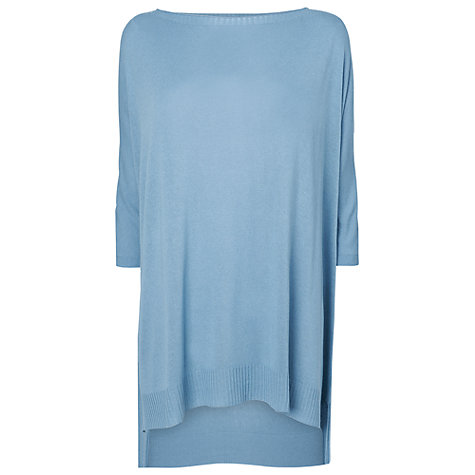 Buy Phase Eight Sandra Knit Jumper, Denim Online at johnlewis.com