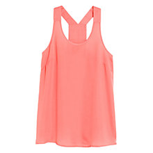 Buy Mango Racerback Top Online at johnlewis.com