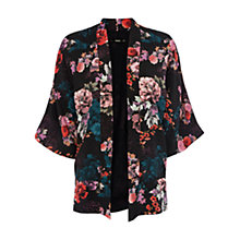 Buy Oasis Floral Sketch Kimono, Multi Online at johnlewis.com