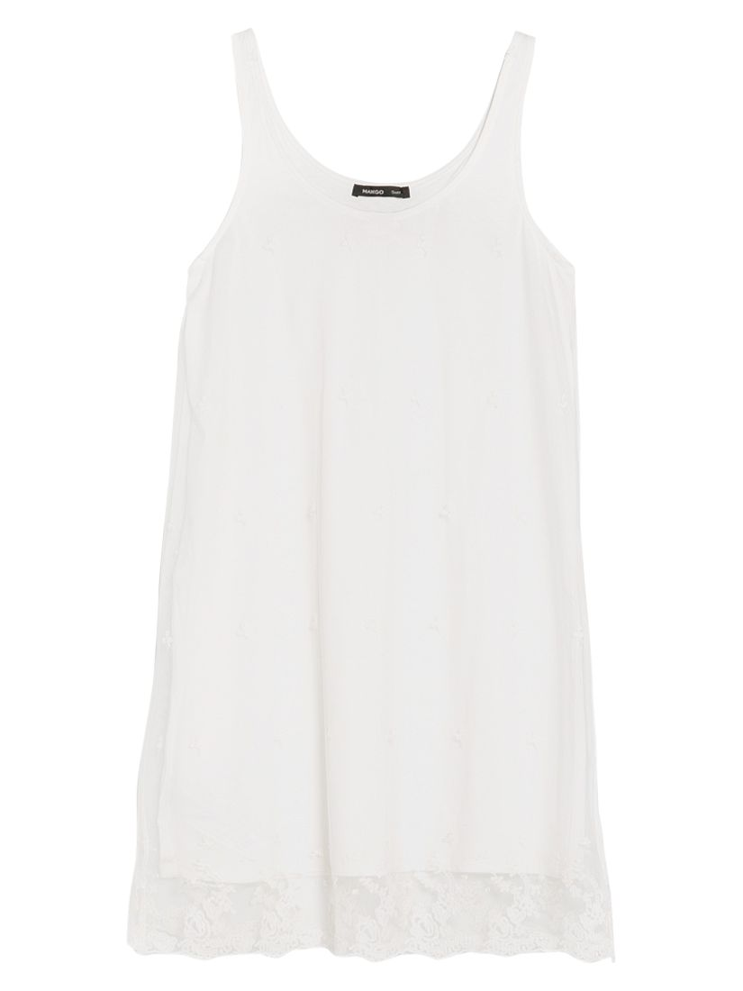 mango embroidered tulle dress natural white, mango, embroidered, tulle, dress, natural, white, women, womens holiday shop, white dresses, womens dresses, special offers, womenswear offers, womens dresses offers, sport & leisure, festival essentials, womens festival fashion, festival dresses, 1413193