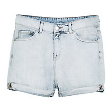 Buy Mango Vintage Denim Shorts, Medium Blue Online at johnlewis.com