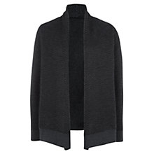 Buy Farhi by Nicole Farhi Herringbone Cardi, Grey Online at johnlewis.com
