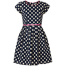 Buy Yumi Girl Owl Dress, Navy Online at johnlewis.com