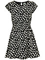 Yumi Girl Daisy Sun Dress, Black