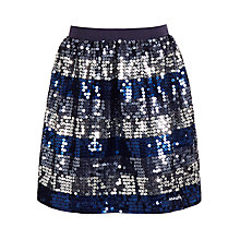 Buy John Lewis Girl Striped Sequin Skirt Online at johnlewis.com