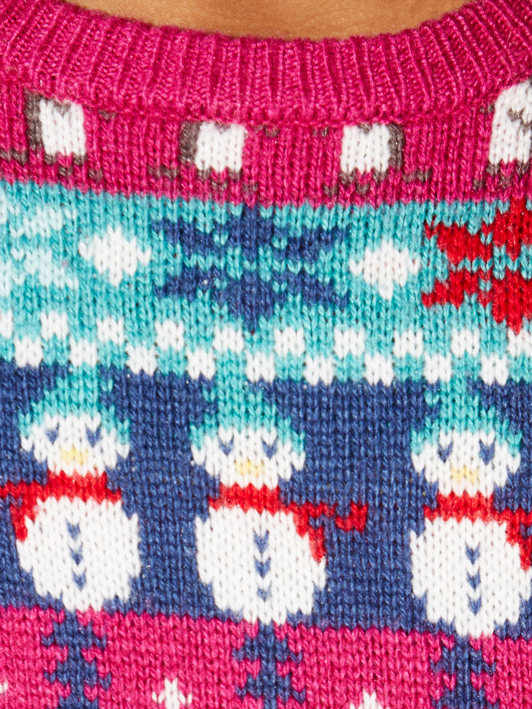 John Lewis Snowman Knitting Pattern : Buy John Lewis Girl Christmas Fair Isle Jumper, Multi John Lewis