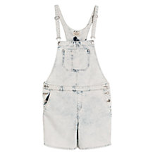 Buy Mango Denim Short Dungarees Online at johnlewis.com