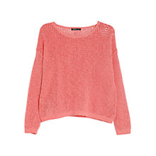 Buy Mango Open Knitted Jumper Online at johnlewis.com