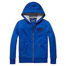 Buy Tommy Hilfiger Boys' City Zip-Through Hoodie, Blue Online at johnlewis.com