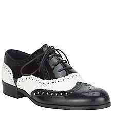 Buy Somerset by Alice Temperley Rumbold Leather Brogue Shoes, Tan Online at johnlewis.com