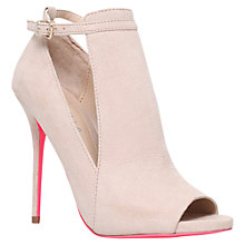 Buy Carvela Glance Stiletto Heeled Court Shoes, Pale Pink Online at johnlewis.com