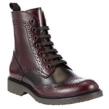 Buy Collection WEEKEND by John Lewis Rocky Leather Ankle Boots Online at johnlewis.com