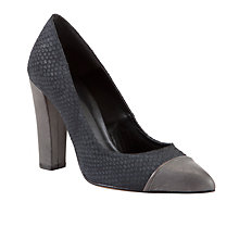 Buy COLLECTION by John Lewis Megan Leather Mid Block Heel Court Shoes Online at johnlewis.com