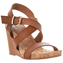 Buy Dune Graine Wedge Sandals Online at johnlewis.com