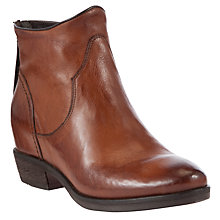 Buy Collection WEEKEND by John Lewis Whisper Leather Ankle Boots Online at johnlewis.com
