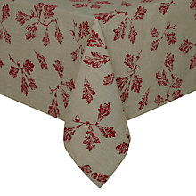 Buy John Lewis Acorn Print Cotton Tablecloth Online at johnlewis.com