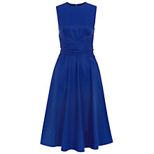 Buy Hobbs Twitchill Dress, Brilliant Blue Online at johnlewis.com
