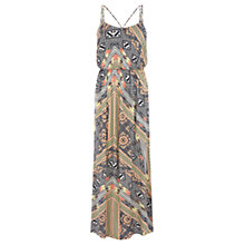 Buy Warehouse Tribal Print Maxi Dress, Multi Online at johnlewis.com