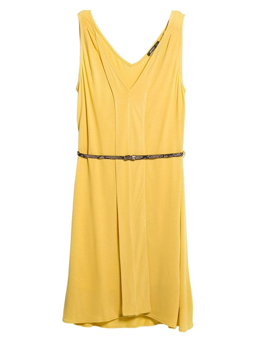 mango belted dress bright yellow, mango, belted, dress, bright, yellow, 8|12|10, women, womens dresses, special offers, womenswear offers, womens dresses offers, 1413171