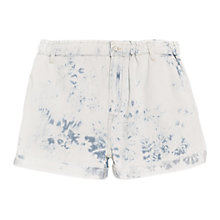 Buy Mango Denim Bermuda Shorts, Light Pastel Blue Online at johnlewis.com