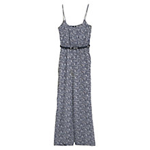 Buy Mango Liberty Print Jumpsuit, Navy Online at johnlewis.com