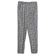 Buy Mango Mosaic Print Trousers, Blue Online at johnlewis.com