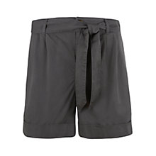 Buy Mint Velvet Soft Shorts, Green Online at johnlewis.com