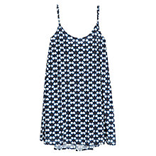 Buy Mango Ikat Print Dress, Navy Online at johnlewis.com