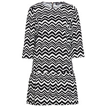 Buy Sugarhill Boutique Tara Dress, Black/White Online at johnlewis.com
