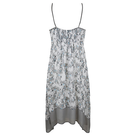 Buy Mint Velvet Arizona Mae Sundress, Ivory / Khaki Online at johnlewis.com