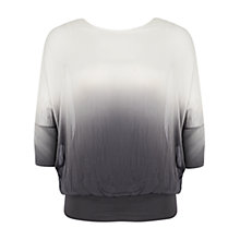 Buy Chesca Ombre Batwing Top, Ivory Grey Online at johnlewis.com