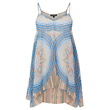 Buy Warehouse Dial Hanky Hem Cami, Multi Online at johnlewis.com