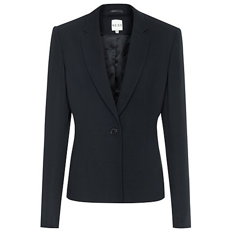 Buy Reiss Fontez Tailored Jacket, Indigo Online at johnlewis.com