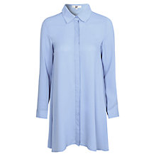 Buy True Decadence Shirt Dress, Light Blue Online at johnlewis.com