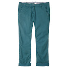 Buy Seasalt Vole Straight Leg Trousers, Flood Blue Online at johnlewis.com