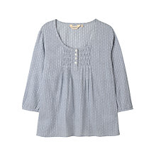 Buy Seasalt Trengove Top, Cast Off Squid Ink Online at johnlewis.com