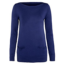 Buy Winser Tunic Jumper, Indigo Online at johnlewis.com