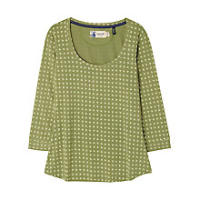 Buy Seasalt Cousin Jinny Hanky Dot Top, Green Online at johnlewis.com