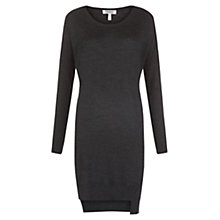 Buy Farhi by Nicole Farhi Merino Dress, Charcoal Online at johnlewis.com