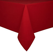 Buy House by John Lewis Tablecloth, Red Online at johnlewis.com