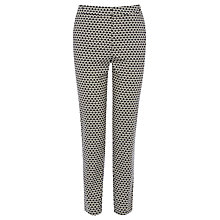 Buy Oasis Daisy Spot Trousers, Multi Blue Online at johnlewis.com