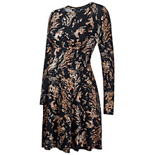 Buy Isabella Oliver Leigh Print Maternity Dress, Black/Beige Online at johnlewis.com
