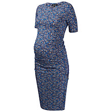 Buy Isabella Oliver Brayton Liberty Print Maternity Dress, Blue Online at johnlewis.com