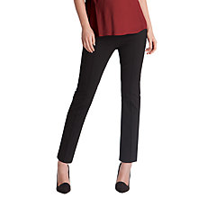 Buy Séraphine Carrie Crop Trousers, Black Online at johnlewis.com