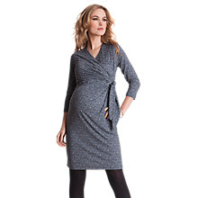 Buy Séraphine Renata Print Wrap Maternity Dress, Multi Online at johnlewis.com